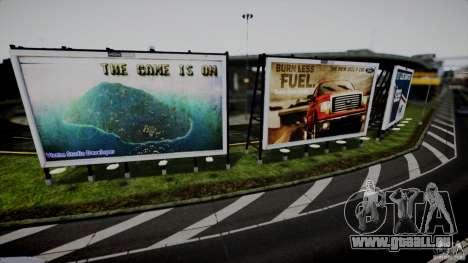 Realistic Airport Billboard für GTA 4