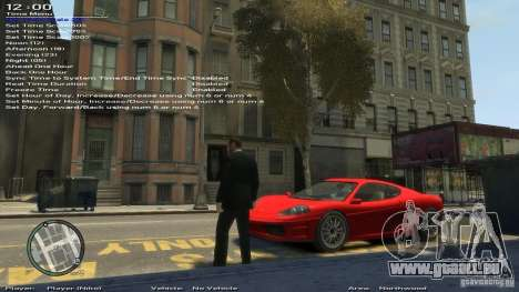 Einfache Trainer Version 6.3 für 1.0.6.0, 1.0.7. für GTA 4 neunten Screenshot