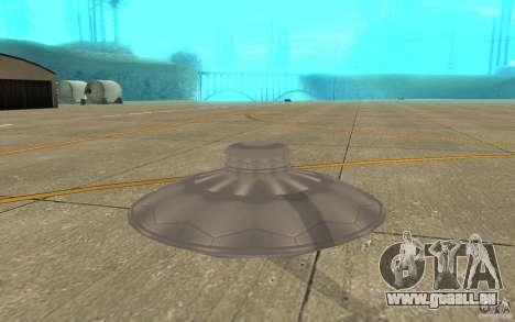 UFO Atack pour GTA San Andreas vue de droite