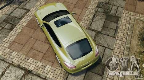 Porsche Panamera Turbo 2010 pour GTA 4 est un droit