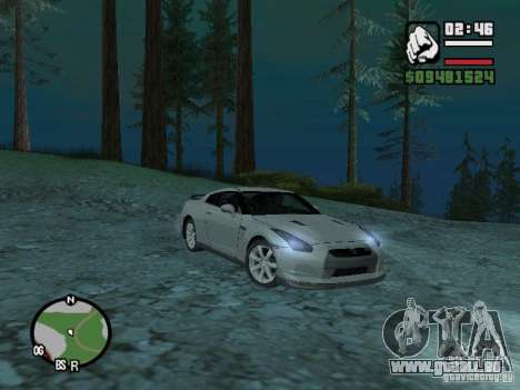 Nissan Skyline GTR für GTA San Andreas