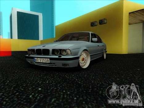 BMW 5 series E34 pour GTA San Andreas