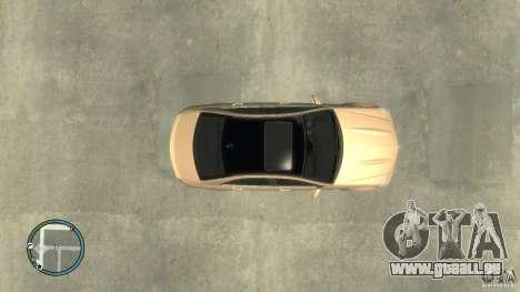 Mercedes-Benz C63 pour GTA 4 Vue arrière de la gauche