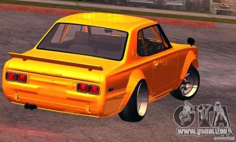 Nissan GT-R 2000 pour GTA San Andreas laissé vue
