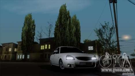 LADA 2170 Californie pour GTA San Andreas vue de droite