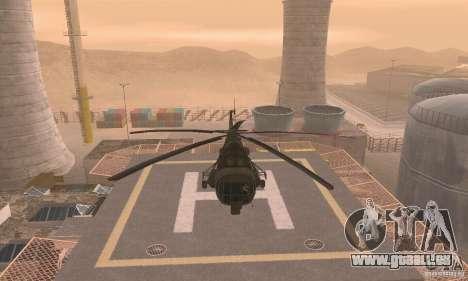 MI-17 pour GTA San Andreas vue arrière