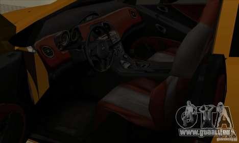 Mitsubishi Eclipse GT pour GTA San Andreas vue arrière