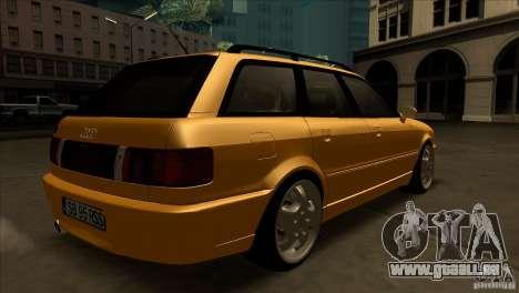 Audi RS2 Avant 1995 pour GTA San Andreas vue de droite