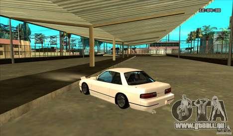 Nissan Silvia S13 Old School pour GTA San Andreas laissé vue