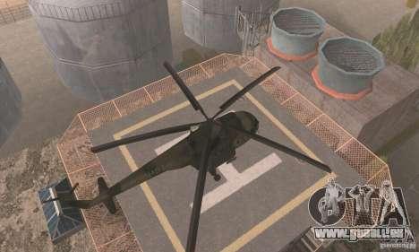 MI-17 pour GTA San Andreas vue de droite
