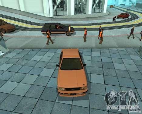 Futo de GTA 4 pour GTA San Andreas laissé vue