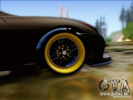 Infiniti G37 HellaFlush für GTA San Andreas Rückansicht