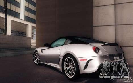 Ferrari 599 GTO 2011 für GTA San Andreas linke Ansicht
