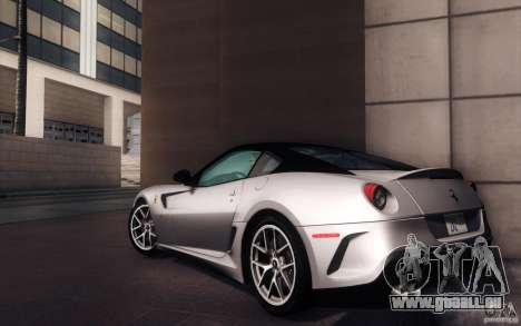 Ferrari 599 GTO 2011 pour GTA San Andreas laissé vue
