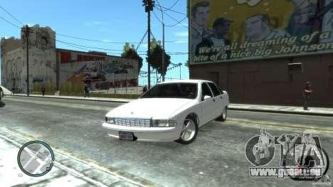 Chevrolet Caprice pour GTA 4