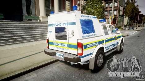 Nissan Frontier Essex Police Unit pour GTA 4 est un côté