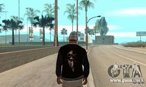 Jacke skin pour GTA San Andreas deuxième écran