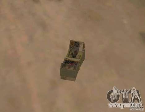 Argent kazakh pour GTA San Andreas deuxième écran