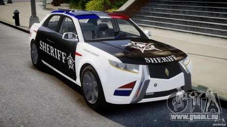 Carbon Motors E7 Concept Interceptor Sherif ELS pour GTA 4