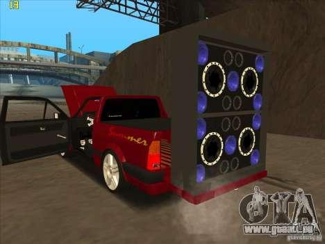 Volkswagen Saveiro Summer pour GTA San Andreas vue de droite