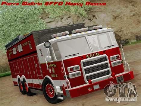 Pierce Walk-in SFFD Heavy Rescue für GTA San Andreas