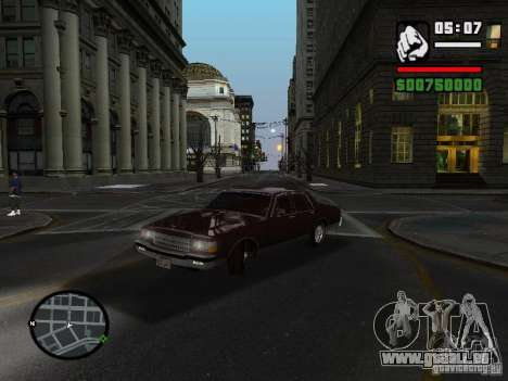 Chevrolet Caprice Classic 87 pour GTA San Andreas