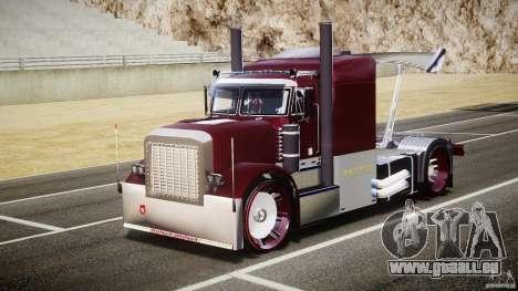 Peterbilt Sport Truck Custom pour GTA 4 Vue arrière