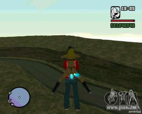 Ebisu Touge pour GTA San Andreas quatrième écran