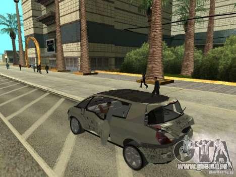 Renault Avantime für GTA San Andreas Rückansicht
