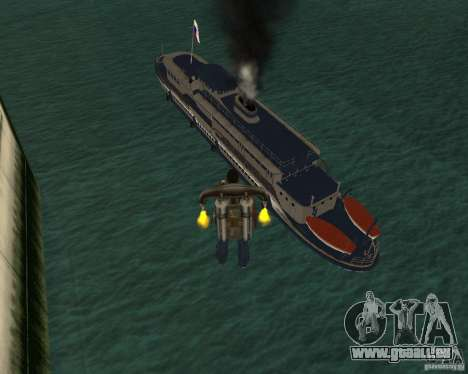 Moteur OHM 62 pour GTA San Andreas laissé vue