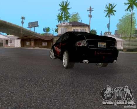 Vauxhall Monaco VX-R für GTA San Andreas Unteransicht
