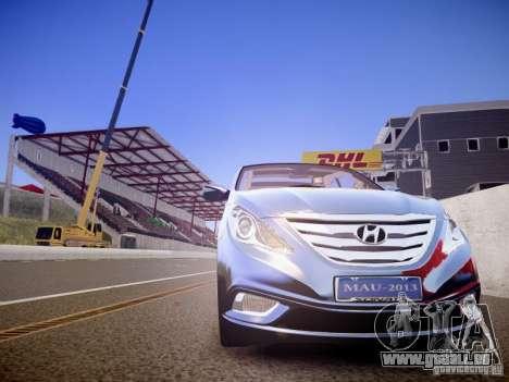 Hyundai Sonata 2011 für GTA 4 Innenansicht