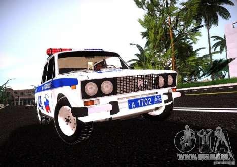 VAZ 2106 Polizei V 2.0 für GTA San Andreas