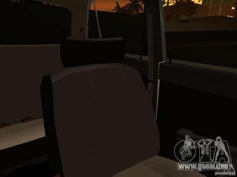 VAZ 2106 Polizei V 2.0 für GTA San Andreas Unteransicht