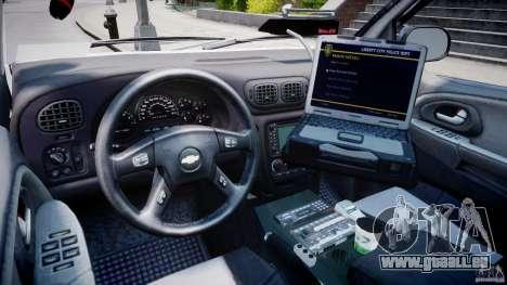 Chevrolet Trailblazer Police V1.5PD [ELS] für GTA 4 rechte Ansicht