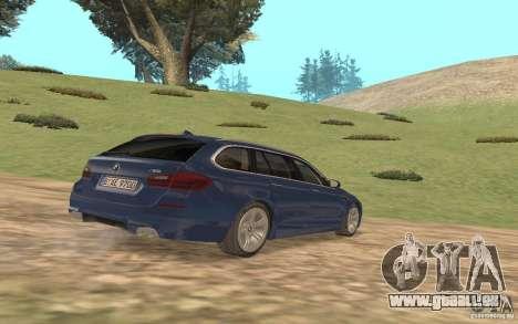 BMW M5 F11 Touring pour GTA San Andreas vue de côté