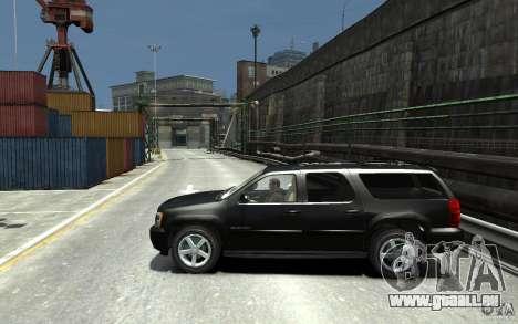 Chevrolet Suburban 2008 (beta) pour GTA 4 est une gauche