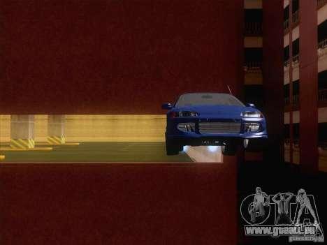 Honda Civic IV GTI pour GTA San Andreas vue intérieure