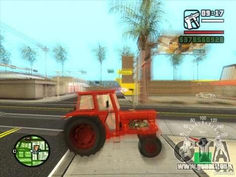 Traktor für GTA San Andreas