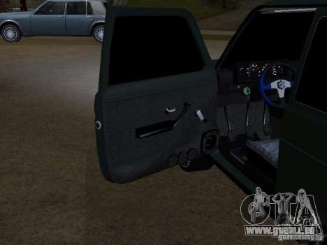 Lada Niva 21214 Tuning pour GTA San Andreas vue intérieure