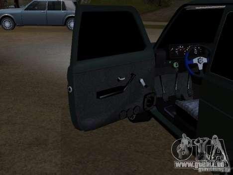 Lada Niva 21214 Tuning für GTA San Andreas Innenansicht