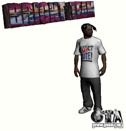 New Ballas Pack pour GTA San Andreas quatrième écran