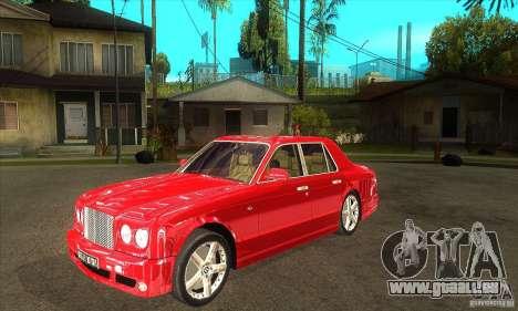 Bentley Arnage T pour GTA San Andreas