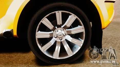 Bowler EXR S 2012 für GTA 4 Innenansicht