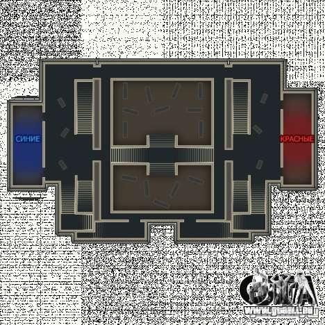 Bibliothek-Karte von Point Blank für GTA San Andreas fünften Screenshot
