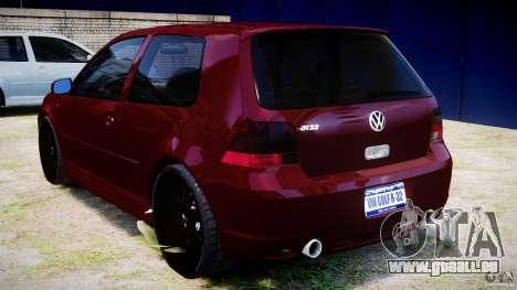 Volkswagen Golf IV R32 v2.0 pour GTA 4 est un droit