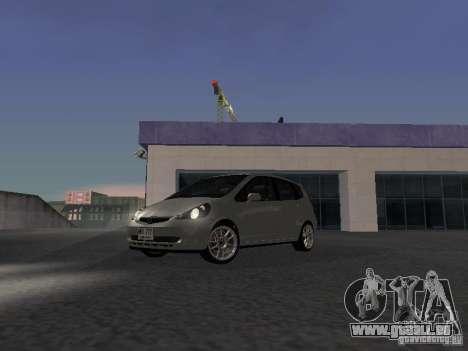 Honda Fit pour GTA San Andreas laissé vue