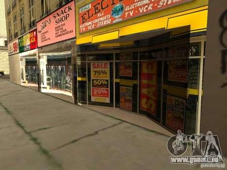 Neue Texturen Downtown Los Santos für GTA San Andreas dritten Screenshot