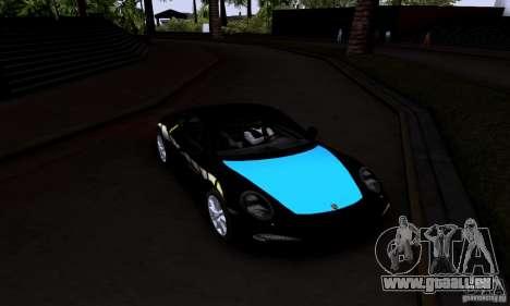 Porsche 911 Carrera S für GTA San Andreas Rückansicht