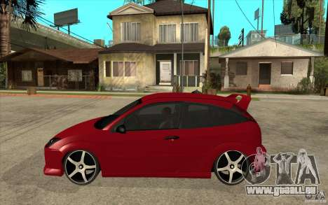 Ford Focus Coupe Tuning für GTA San Andreas linke Ansicht